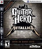 PS3 Guitar Hero: Metallica 吉他英雄:金屬搖滾(美版代購)
