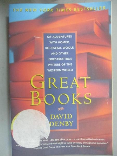 【書寶二手書T3/文學_QCD】Great Books: My Adventures With Homer, Rouss