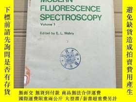 二手書博民逛書店modern罕見fluorescence spectroscopy volume 1(P1988)Y17341