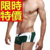 四角泳褲-溫泉流行有型休閒男平口褲56d40[時尚巴黎]
