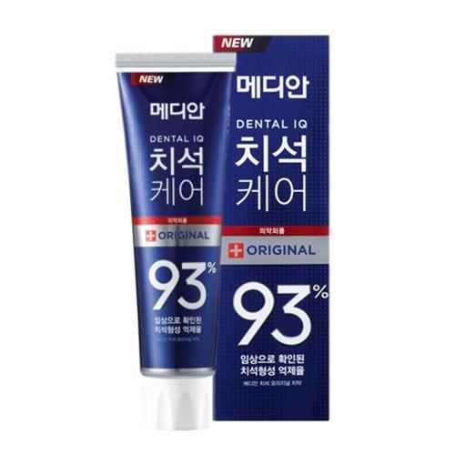 麥迪安強效淨白去垢牙膏(藍-防護抗菌)120g【愛買】