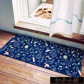 廚房地墊 腳墊門墊進門口防油家用臥室墊子浴室防滑衛生間吸水地毯【全館免運】11-12