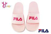 FILA 拖鞋 女款 全防水 運動拖鞋 H5909 #粉紅◆OSOME奧森鞋業