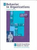 二手書 《Behavior in Organizations: Understanding and Managing the Human Side of Work》 R2Y ISBN:0131115928