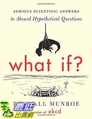 [104美國直購] 2015 美國暢銷書排行榜 What If: Serious Scientific Answers to Absurd Hypothetical Questions