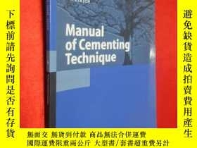 二手書博民逛書店Manual罕見of Cementing Technique (
