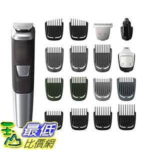 [美國直購]理髮器 Philips Norelco Multi Groomer MG5750/49 - 18 piece, beard, body, face trimmer and clipper