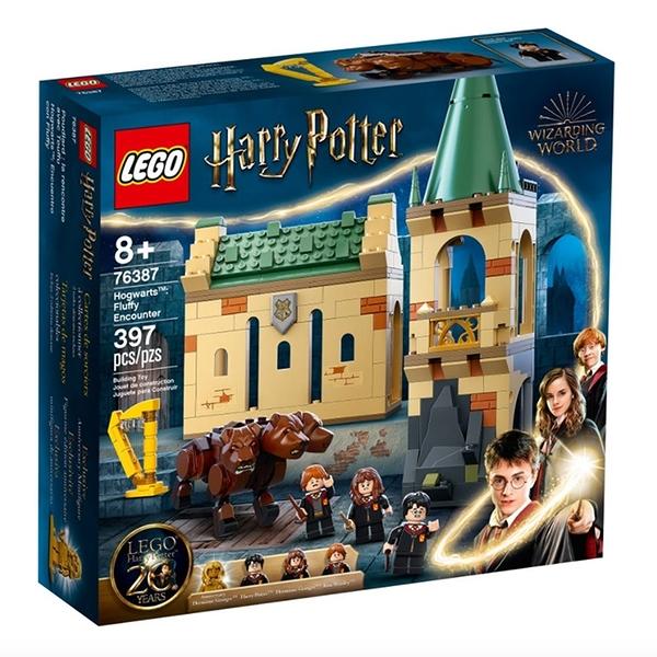 LEGO樂高 哈利波特系列 Hogwarts: Fluffy Encounter_LG76387