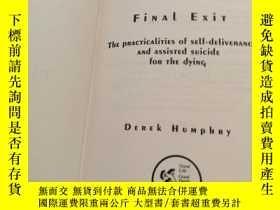 二手書博民逛書店【英文原版硬精裝保真包罕見】Final Exit (Third