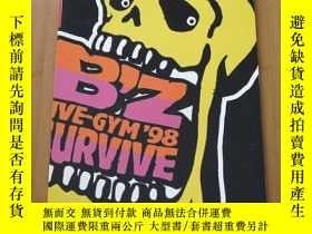 二手書博民逛書店B z罕見LIVE-GYM 98 SURVIVE 演唱會場刊Y178456 B z 出版1998