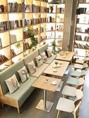餐廳沙發定制咖啡廳西餐廳主題餐廳網紅奶茶店漢堡店靠墻卡座沙發桌椅組合LX 非凡小鋪 新品