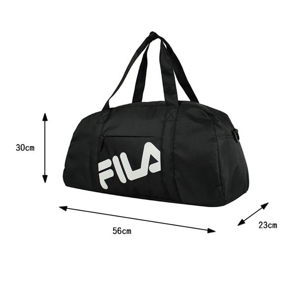 【橘子包包館】FILA 訓練包 訓練袋 手提包 旅行包 旅行袋 OTV-3016-BK 黑色