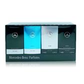 Mercedes Benz 賓士 男性淡香水 小香禮盒 7ml*4 (經典/輕晨曙光/銀色經典/極緻)【娜娜香水美妝】