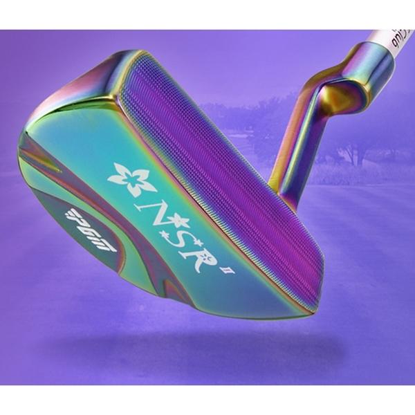 POSMA PGM 女款 高爾夫球桿 練習桿 推桿 藍色 TUG026