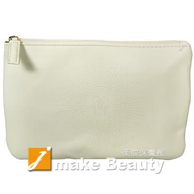 GUERLAIN嬌蘭 藍金水合美妍包(20*14cm)-白色《jmake Beauty 就愛水》