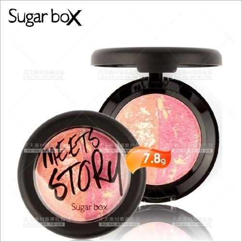 SugarBox糖盒雙色腮紅-7.8g(五色任選)[53631]