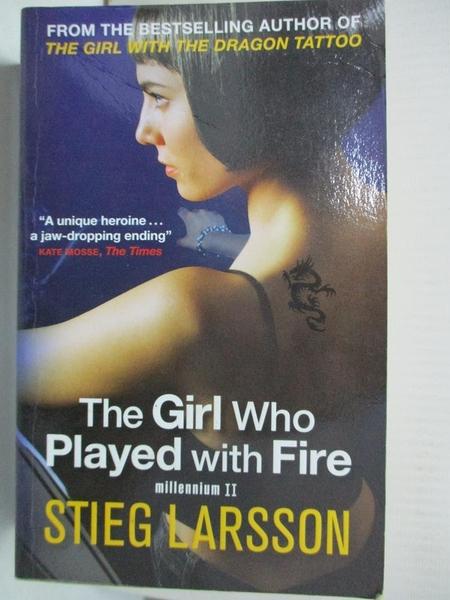 【書寶二手書T7/原文小說_GZ6】The Girl Who Played with Fire_Stieg Larsson
