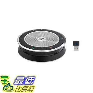 [9美國直購] 揚聲器 Sennheiser SP 30+ (508346) Sound-Enhanced, Wired or Wireless Speakerphone | Desk, Mobile Phone