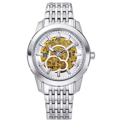 Olym Pianus奧柏表 簡約時尚鏤空機械腕錶/42mm