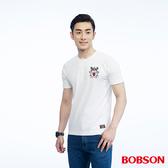 BOBSON  男款印圖上衣(26015-80)