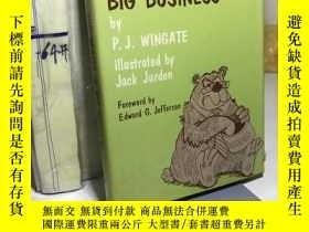 二手書博民逛書店The罕見beasts of big business【英文原版