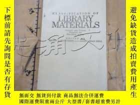 二手書博民逛書店Classification罕見of Library Mater