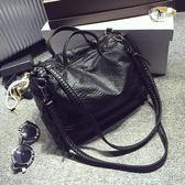 水洗皮包超正韓版手提包機車女包(GR-8787)