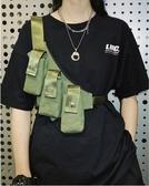 胸前包 工裝挎包吳亦凡潮流合伙人同款斜挎包男嘻哈街頭胸包女潮ins 零度
