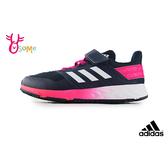 adidas PERFORMANCE FORTAFAITO 中大童 經典三線造型 運動鞋 慢跑鞋 R9357#紅色◆OSOME奧森鞋業
