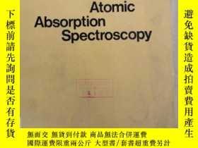 二手書博民逛書店atomic罕見absorption spectroscopy(P2300)Y173412