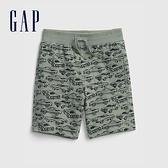 Gap男幼童 布萊納系列 口袋印花休閒短褲 542324-汽車圖案