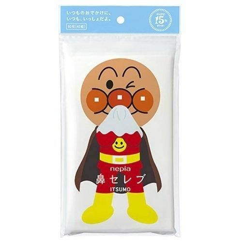日本【Nepia】ITSUMO麵包超人溫和衛生紙40抽