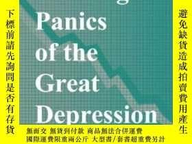 二手書博民逛書店【罕見】2000年出版 The Banking Panics O