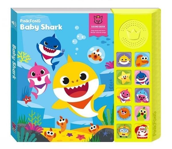 (正版 公司貨)Pinkfong Baby Shark 碰碰狐 鯊魚寶寶有聲書 (SS15048)