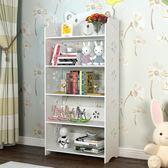 兒童卡通小書架落地簡易迷你省空間書柜簡約現代置物架經濟型格架igo  瑪奇哈朵