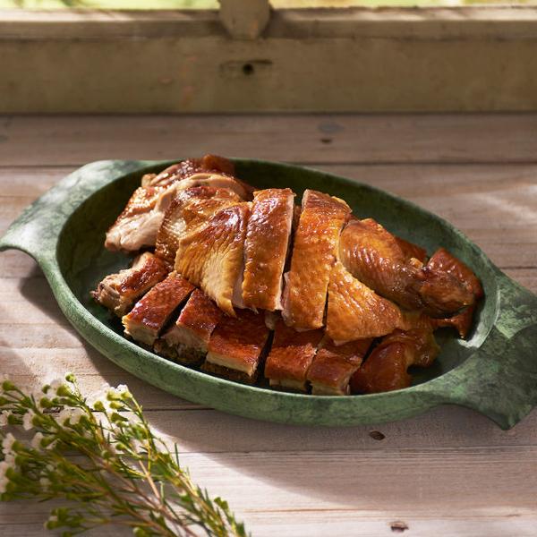 龍眼木燻雞切盤