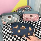 日系原宿可愛卡通軟妹少女花朵化妝包學生便攜洗漱化妝品收納袋女