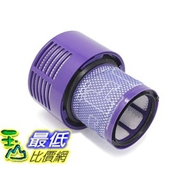 [8美國直購] Vacuum Filter Compatible with Dyson Cyclone V10 相容型Hepa 濾網 Compare to Part #969082-01 Pack of 1