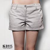 【BTIS】彈性休閒短褲 / 灰色
