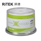【RiTEK錸德】 16X DVD-R 桶裝 4.7GB 珍珠白滿版可列印式 50片/組