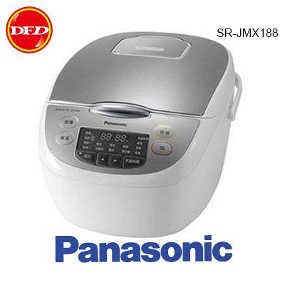 PANASONIC 國際牌 SR-JMX188 日本製 微電腦電子鍋  4.0mm厚釜鍋 10人份 公司貨