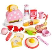 西式早餐扮家家酒木製玩具組 兒童玩具 煮菜遊戲組 仿真食物玩具