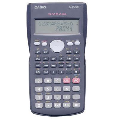 【奇奇文具】【CASIO 卡西歐 計算機】CASIO  FX-350MS 工程用計算機