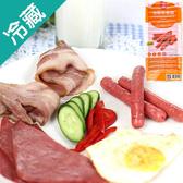 台畜法蘭克香腸(小熱狗)500g【愛買冷藏】