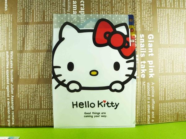 【震撼精品百貨】Hello Kitty 凱蒂貓~3格文件夾~熊熊【共1款】