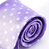 Roberta di Camerino 諾貝達點點領帶-紫