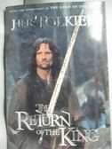 【書寶二手書T1/原文小說_HQN】The Return of the King_J.R.R. Tolkien