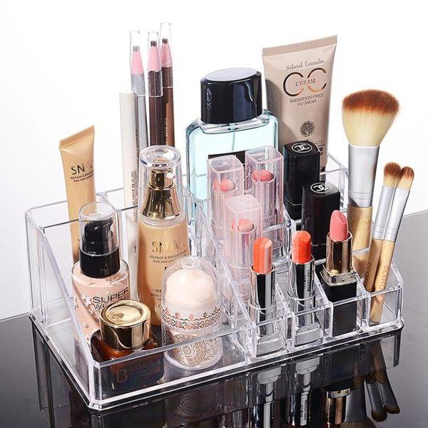 透明化妝品收納盒 水晶亞克力 首飾盒 限時八八折