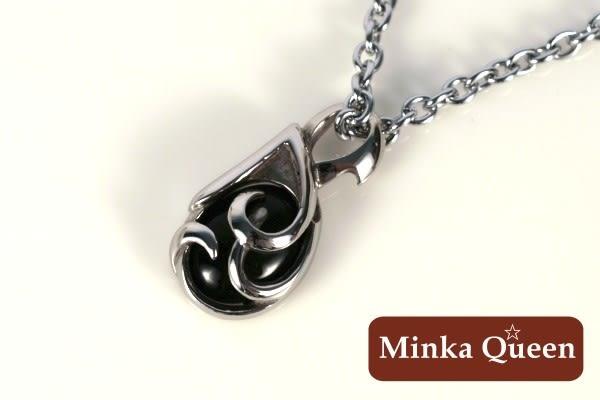 Minka Queen  德國鈦鋼 率性時尚潮流 個性造型項鍊(39mm)
