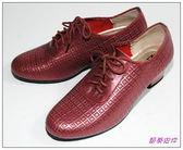 節奏皮件~國標舞鞋女練習鞋編號695 56 紅珠